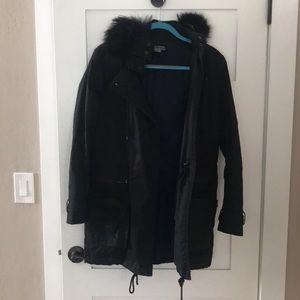 Black Vince Winter Coat - size 8